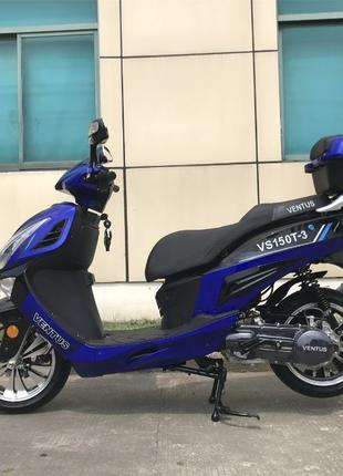 Скутер VENTUS STORM VS150T-3 150см3! Оплата при получении! Новый!