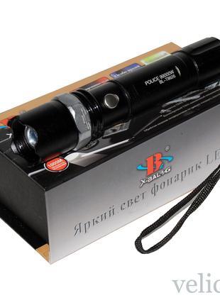 Фонарик аккумуляторный POLICE BL-T8626 990000 W