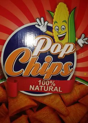 Кукурузные чипсы POP Chips (Турция)