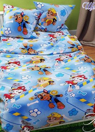 1,5-спальный комплект детского постельного белья, ткань ранфорс
