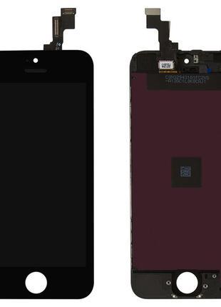 Дисплей с сенсором iPhone 5S/ SE Чёрный/ Белый