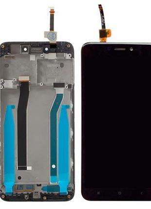 Дисплей Xiaomi Redmi 4X / Redmi 4X Pro с сенсором и рамкой черный