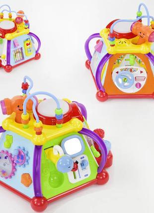 Развивающая игрушка Мультибокс 806 - 15 в 1 для малышей