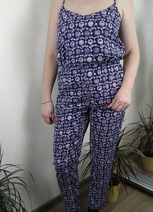 Комбинезон комбез штаны брюки майка