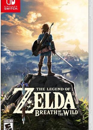 Новые The Legend of Zelda: Breath of the Wild - Nintendo Switch