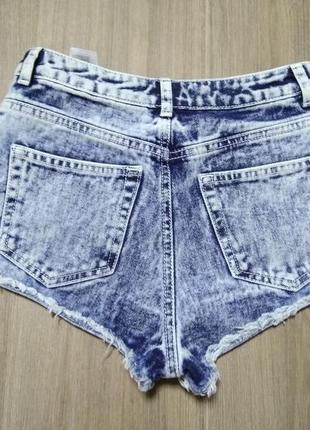 Шортики шорты джинс джинсовые варенки крутые завышенная талия ...
