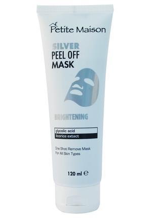 Отбеливающая маска-пленка для лица Petite Maison, 120 мл