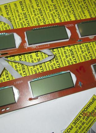 Плата индикации, дисплей 3v XC001+HY1789А, с питанием 4-6v АКБ