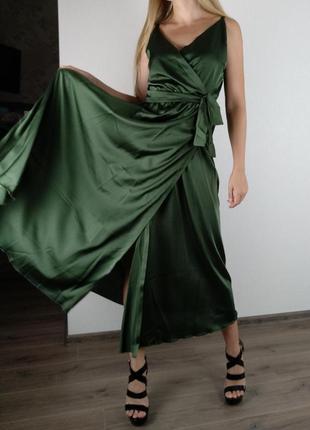 Красивое платье миди платице сарафан цвета в ассортименте