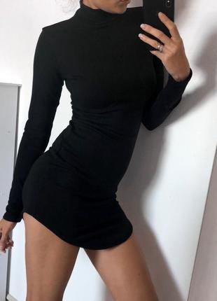 Платье платице длиный рукав