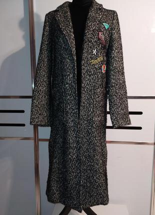 Удлинённое пальто pull&bear