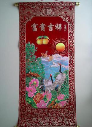 Декоративное панно на стену в японском стиле