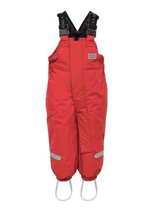 Зимний детский полукомбинезон штанишки для девочки legowear р....