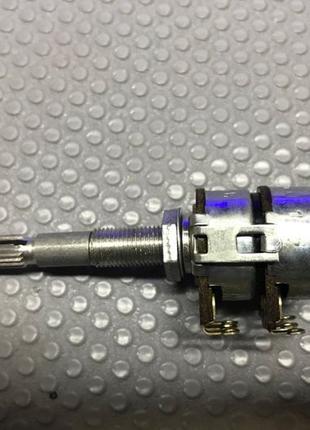 Потенциометр балансный с длинным штоком Telpod 2x47kΩ