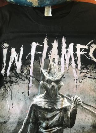 Футболка In Flames с тура 2019 (в поддержку альбома I, The Mask)