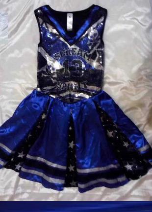 Карнавальный костюм для Хеллоуина для девочки 7 - 8 лет