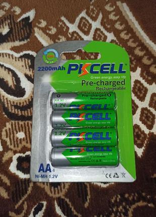 Батарейки аккумуляторные pkcell