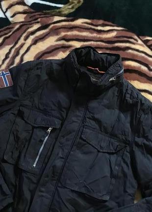 Суперовая утеплённая курточка на большого дядю от napapijri