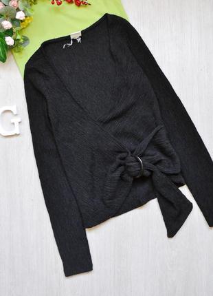 Очень интересная блузка с фактурной ткани