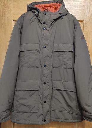 Billabong мужская удлиненная куртка с капюшоном, демисезон евр...