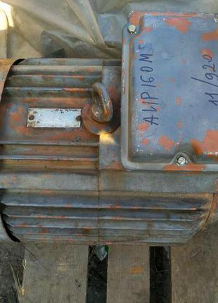 Электродвигатель  АИР 160М8, 11кВт. 700об.