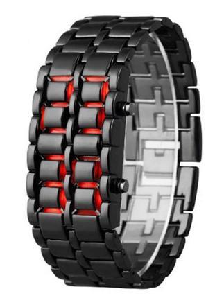 Часы-браслет Led Watch Iron Samurai или SNAKE
