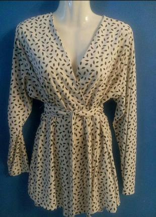Блузка блузон блуза большой размер 52 - 56 можно беременным