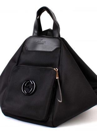 Женская сумка-рюкзак трансформер.