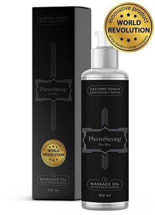 Массажное масло с феромонами для мужчин PheroStrong, 100 мл