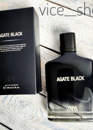 Zara agate black духи парфюмерия туалетная вода оригинал испания