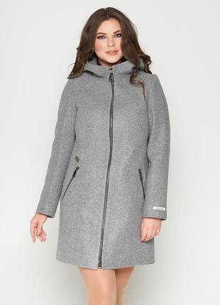 Пальто belanti 804 большие размеры