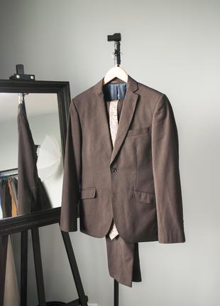Костюм Angelo Litrico оригинал Германия 44р мужской пиджау брюки