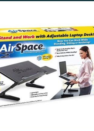 Стол для ноутбука (трансформер) с куллером