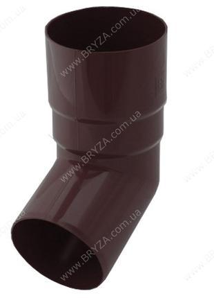 Коліно труби BRYZA 110 мм коричнева