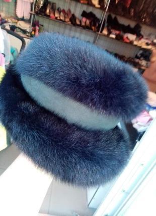 Женская норковая шапка производит. руский мех