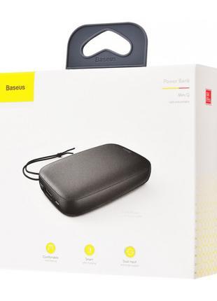 Портативная батарея Baseus Mini Q 10000 mAhBlack