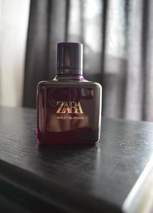 Духи zara violet blossom 80 ml, оригинал испания
