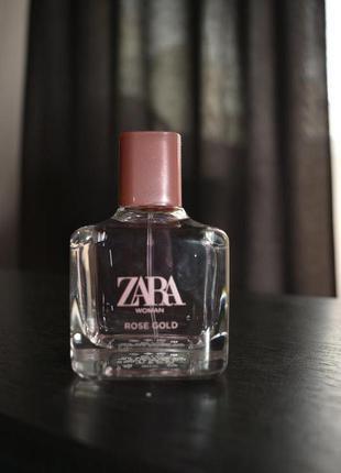 Духи zara women rose gold 80 ml, оригинал испания