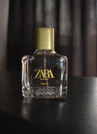 Духи zara woman gold 80 ml, оригинал испания