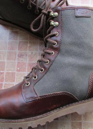 Ботинки ugg australia кожа мужские длина по стельке 27-27,5 см