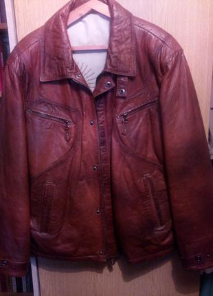 Куртка кожаная иужская