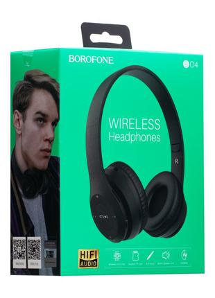 Наушники bluetooth BoroFone BO4