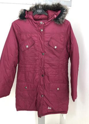 Тёплая куртка на девочку подростка