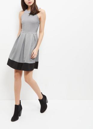 Милое платье в черно-белую полоску new look полосатое платье-с...
