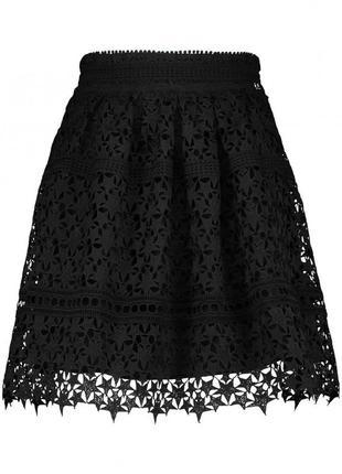 Josh v alesia звездная юбка из красивого черного кружева
