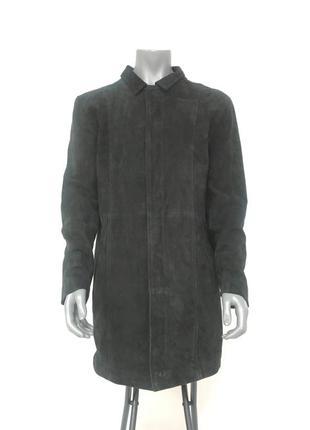 Пальто замшевое journal 01:6