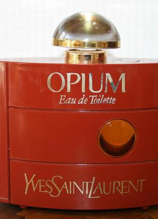 Винтаж духи 60мл opium yves saint laurent