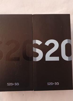 Samsung S20 Plus +5G 12/128GB SM-G986B/DS DUOS Cosmic Black Cl...