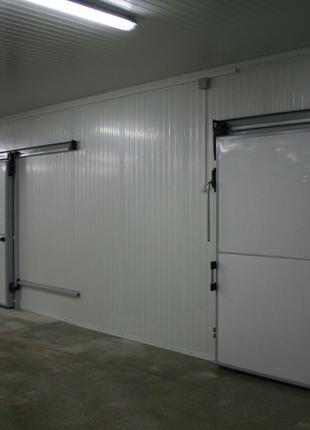 холодильные откатные двери
