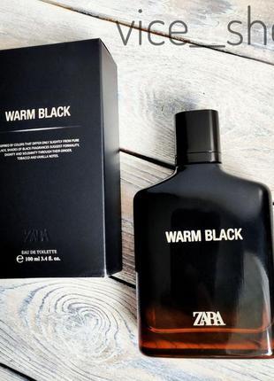 Zara warm black духи парфюмерия туалетная вода оригинал испания